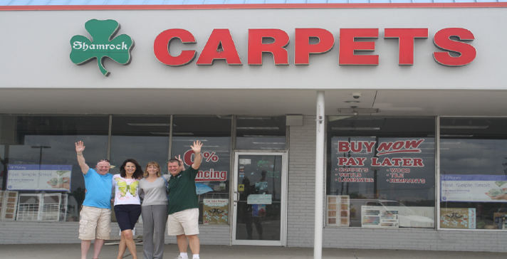 Shamrock Carpets and Staff